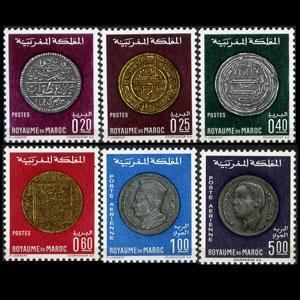 MOROCCO 1968 - Scott# 216-9+C16-7 COins Set of 6 NH