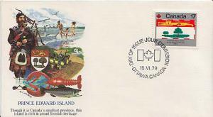 Canada, First Day Cover, Flags