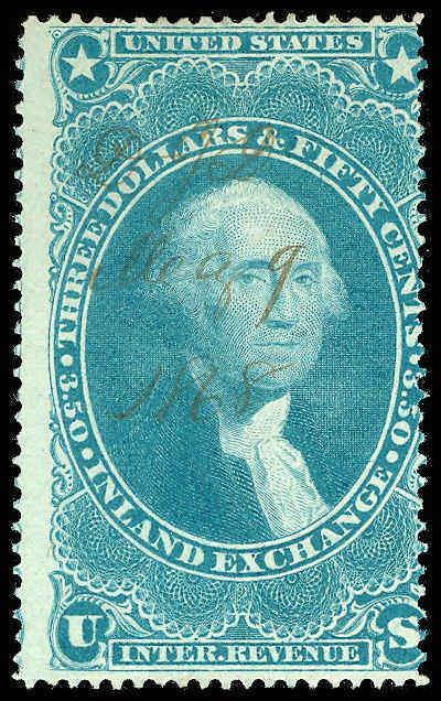 U.S. REV. FIRST ISSUE R87c(var)  Used (ID # 76925)