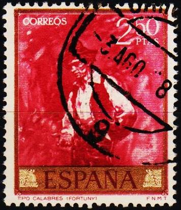Spain. 1968 2p50 S.G.1918 Fine Used