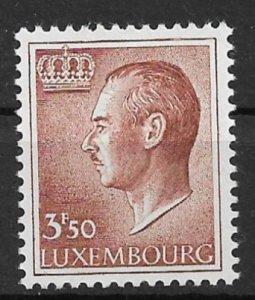 Luxembourg 1966 Grand Duke Jean 3.5f  MNH**
