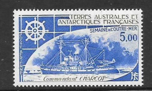 FRENCH SOUTHERN & ANTARCTIC TERRITORIES SG168 1982 OVERSEAS WEEK MNH