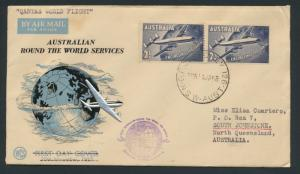 1958 First Round the World Flight Cover  AAMC 1386 SPECIAL - please read deta...