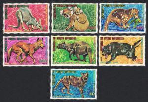 Eq. Guinea Koala Kangaroo Wild Dog Wild Animals Australia 7v