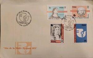 O) 1975 PERU, INTERNATIONAL WOMEN´S YEAR, MARIA PARADO DE BELLIDO, MICALEA B...
