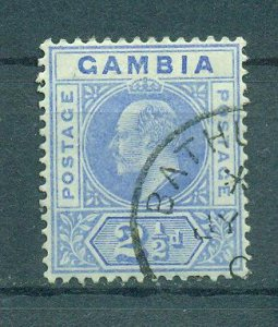 Gambia sc# 45 used cat value $5.50