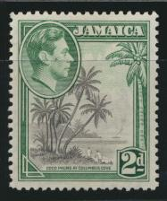 Jamaica SG 124 perf 12«  Mint hinged  SC# 119     see details