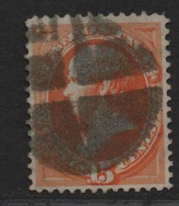 $US Sc#152 used, VF-XF, Cv. $210