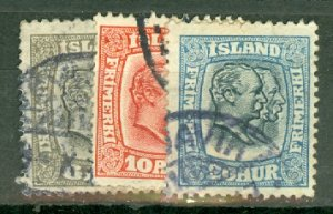 P: Iceland 99-107 used CV $185.65; scan shows only a few