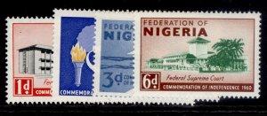 NIGERIA QEII SG85-88, complete set, NH MINT.