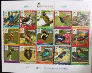 O) 2018 COLOMBIA, RISARALDA BIRD FESTIVAL, EXOTIC BIRDS, BIODIVERSE TERRITORY
