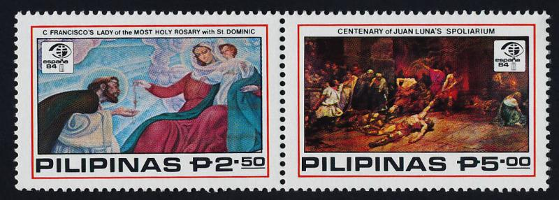 Philippines 1689a MNH Art, Paintings, ESPANA