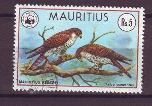 J25524 JLstamps 1978 mauritius hv of set used #472 bird