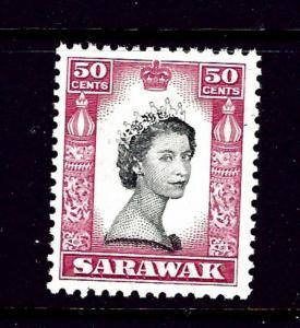 Sarawak 208 MNH 1957 QEII