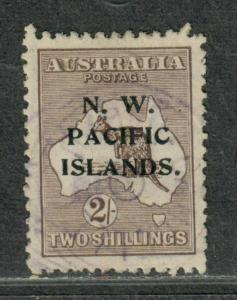 North West Pacific Islands Sc#35 Used/VF-EF, Cv. $42.50