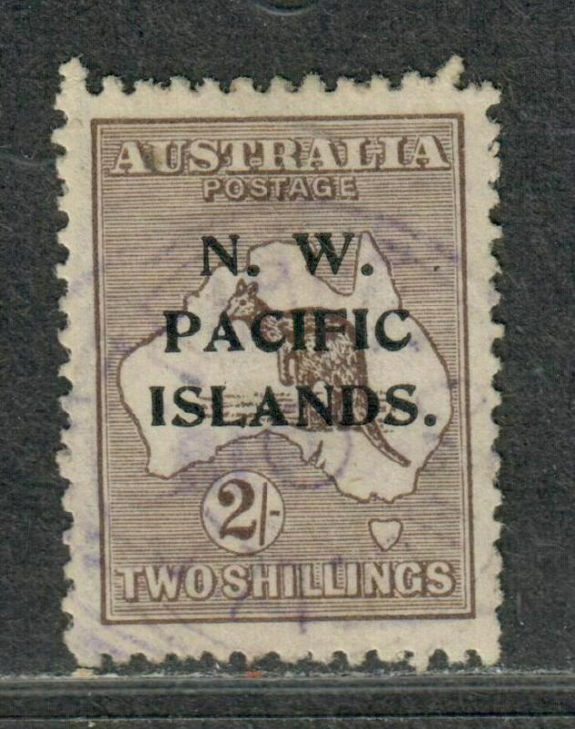 North West Pacific Islands Sc#35 Used/VF-EF, Cv. $42.50