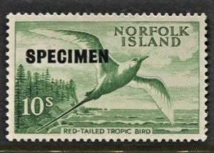 STAMP STATION PERTH Norfolk Island #41 Overprint Specimen MNH - CV$33.00