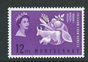Montserrat SG 153 Mint Very Light Hinge