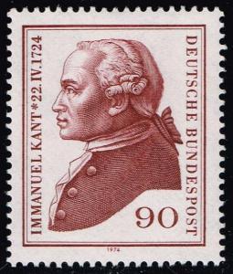 Germany #1144 Immanuel Kant; MNH (1.60)