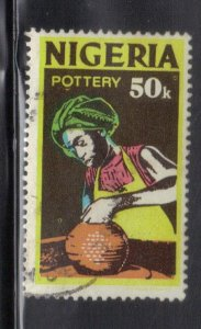 NIGERIA SC# 305  USED* 50k  1973-74   POTTERY    SEE SCAN