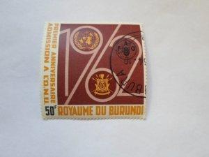 REP. BURUNDI STAMP CTO MINT NOT HINGED # 9