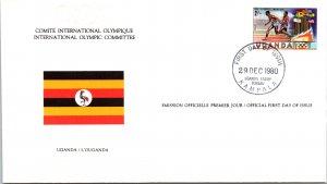 Olympics, Flags, Uganda