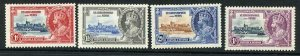 St Christopher and Nevis SG61/64 1935 Silver Jubilee Set M/M