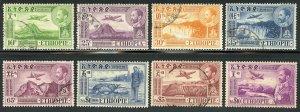 Ethiopia Scott C24-C28,C30,C32-C33 UF-VFH -1947-55 Air Post Short Set-SCV $27.35