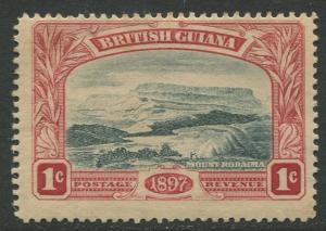 STAMP STATION PERTH British Guiana #152-QV 60TH Anniv. Throne MH Wmk 1 CV$10.00