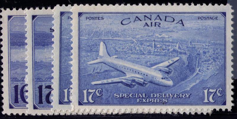 Canada #  CE1-4 Mint  VF VLH  set  stamps Cat $ 23