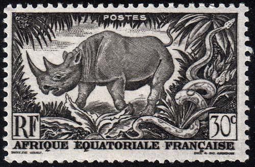 French Equatorial Africa - Scott 167 - Mint-Never-Hinged