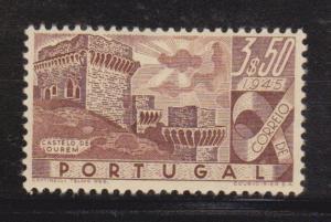 Portugal Scott # 669 VF-OG lightly hinged with nice color cv $ 28 ! see pic !