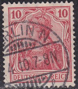 Germany 83 USED - 1905 Germania