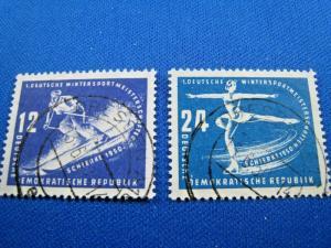 GERMANY  (DDR) -  SCOTT #51-52   Used   (dd)