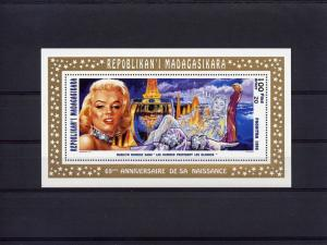Madagascar 95 Marilyn Monroe 3 S/S Perf.Sc.1289-91