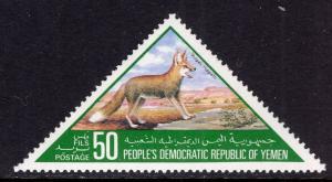 Yemen People's Republic 262 Fox MNH VF