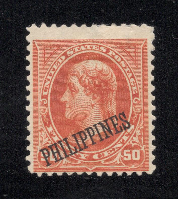 Philippines# 219 Orange - Unused - O.G.