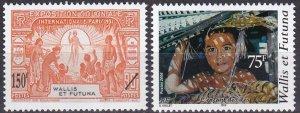 Wallis & Futuna #612-3  MNH CV $5.75  (Z7884)