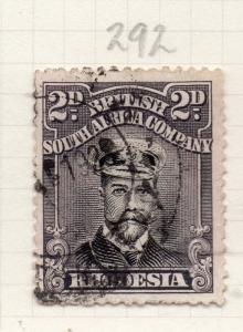 Rhodesia 1913-22 GV Admiral Type Early Issue Fine Used 2d. 274409