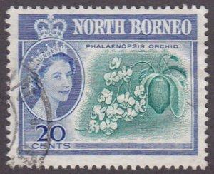 Malaya (North Borneo) 1961 SG397 Used