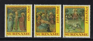 Suriname MNH Set Easter 1992