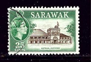 Sarawak 206 MH 1957 issue