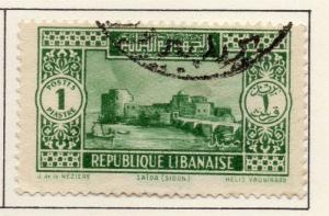 Lebanon 1930-36 Early Issue Fine Used 1p. 221233