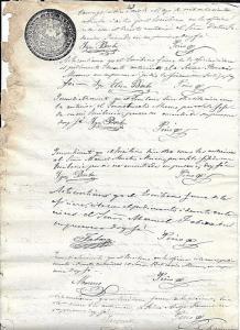 C) ECUADOR SELLO 1877 - 78 DOS REALES DOC. XVI