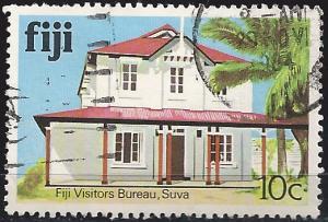 Fiji 414 10c Visitor's Bureau used~hinged