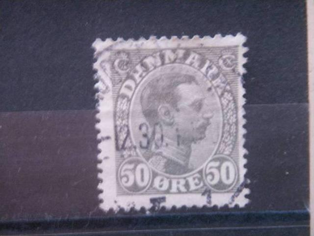 DENMARK, 1922, used 50o, Scott 122