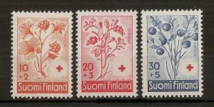 Finland 1958 Red Cross MNH