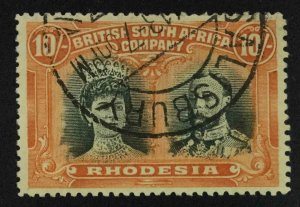 MOMEN: RHODESIA STAMPS SG #163 1910-13 USED £300 LOT #63566