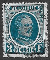 Belgium  Scott 188  Used