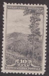 749 National Parks Issue:  Smoky Mountains  F-VF MNH Single